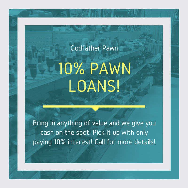10 Percent Pawn Loans at Orlando Best Pawn Shop - Godfather Pawn - How Does Pawn Loan Work?